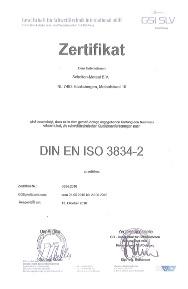 certificaat 3834-2